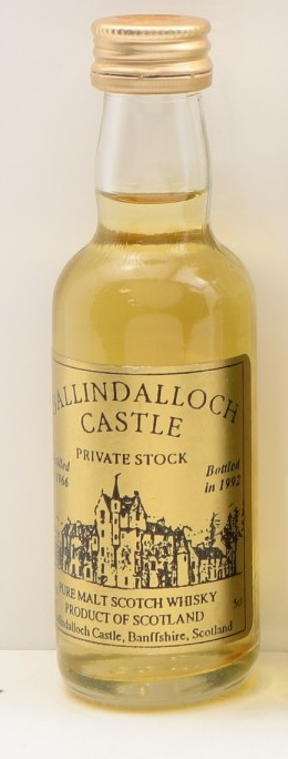 Ballindoch Castle Private Stock Pure Scotch Whisky Miniature - 5cl