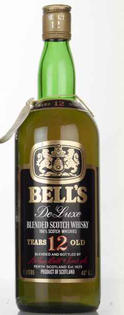 Bells Deluxe 12 Year Old Vintage Blended Scotch Whisky - 1 Litre