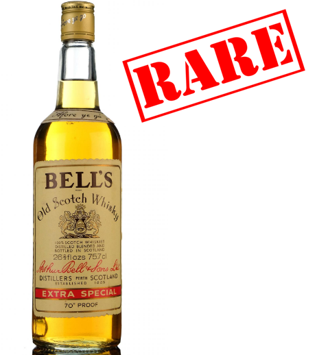 Bells Extra Special Late 1970s Blended Scotch Whisky - 26 2/3 Fl Ozs. 70 proof