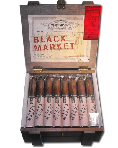Alec Bradley - Black Market - Torpedo Cigar - Box of 22