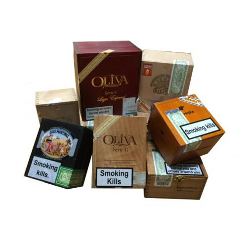 Empty Cigar Boxes – Cabinet Style - Lucky Dip