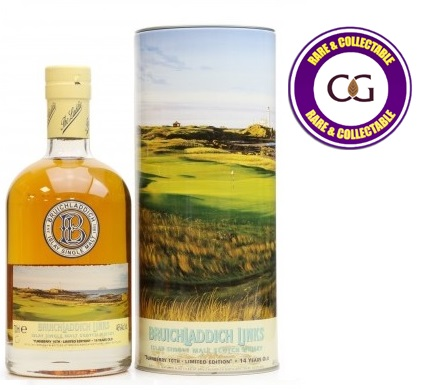 Bruichladdich 14 Year Old Links \'Turnberry Limited Edition\' Whisky - 70cl 46%