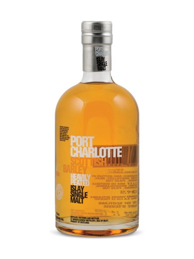 Bruichladdich Port Charlotte Scottish Barley Single Malt Scotch Whisky- 20cl 50%