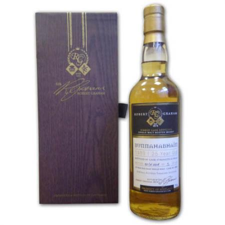 Bunnahabhain 25 Year Old 1989-2014 Treasurer Whisky - 70cl 47%