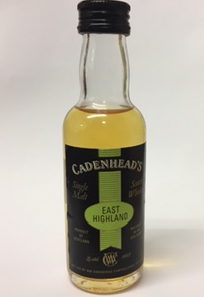Cadenheads Single Malt Scotch Whisky Miniature - 5cl