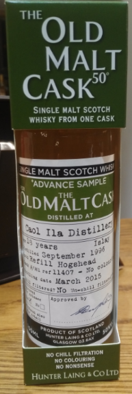 Caol Ila 18 Years Old Old Malt Cask  - 20cl 50%