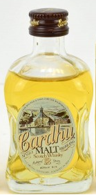 Cardhu 12 Year Old Finest Malt Whisky Miniature - 5cl 40%