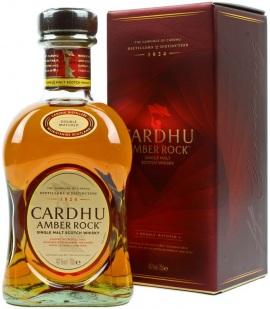 Cardhu Amber Rock Single Malt Scotch Whisky - 70cl 40%