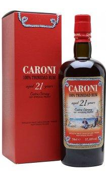 Caroni 21 Year Old Rum - 70cl 57.18%