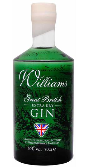 JANUARY SALE - Chase Williams GB Gin - 70cl 40%
