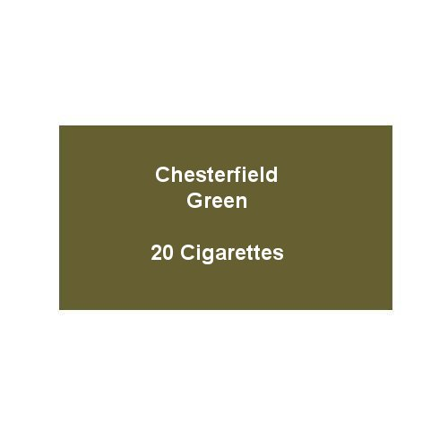 Chesterfield Green Super Kings Cigarettes - 1 pack of 20 cigarettes (20)