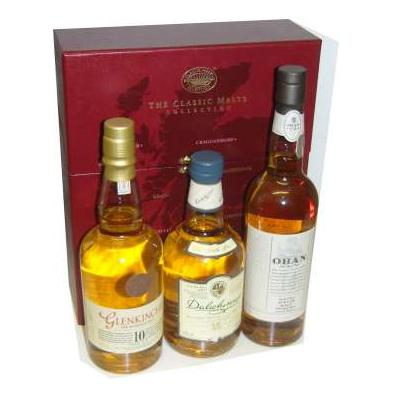 Classic Malts of Scotland 3x20cl - Gentle/Light Selection
