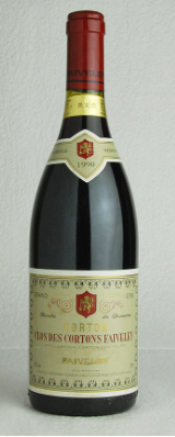 Corton Clos Faiverley 1990 Red Wine - 75cl