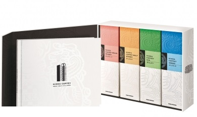 Nikka Coffey Series Coffret Gift Set - 4x70cl