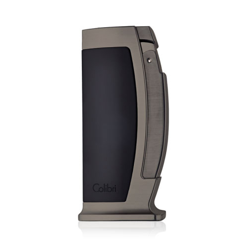 Colibri Enterprise Table Lighter – Black and Gunmetal