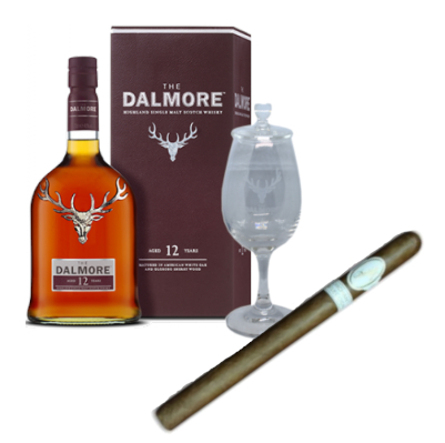 Dalmore 12 Year Old + Davidoff Orchant Seleccion Lancero Pairing Sampler
