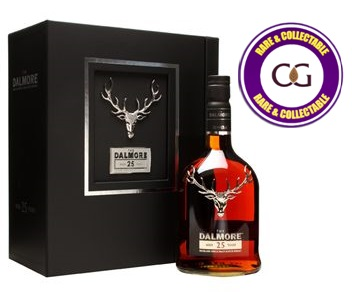 Dalmore 25 Year Old Single Malt Scotch Whisky - 70cl 42%