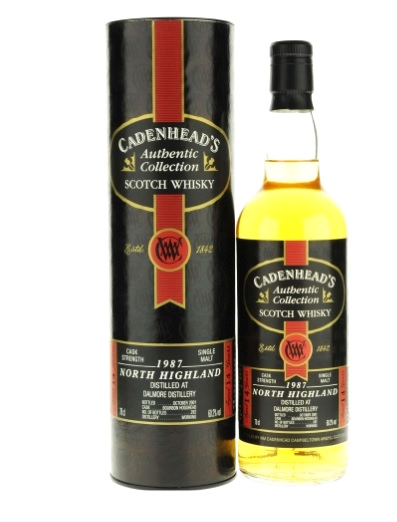 Dalmore 1987 14 Year Old Cadenhead - 60.2% 70cl