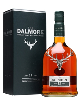 Dalmore 15 Year Old Single Malt Scotch Whisky - 70cl 40%