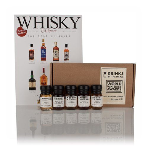 Drinks by the Dram World Whiskies Awards 2015 Winners Tasting Set - 5x3cl 39.4%