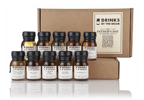 Drinks by the Dram Fathers Day Deluxe Whisky Tasting Set - 10x3cl 46.3%
