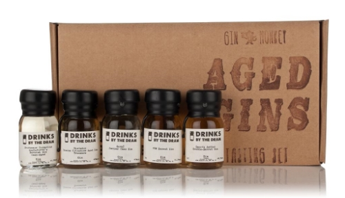 Drinks by the Dram Gin Monkey Aged Gins Tasting Set - 5x3cl 45.9%