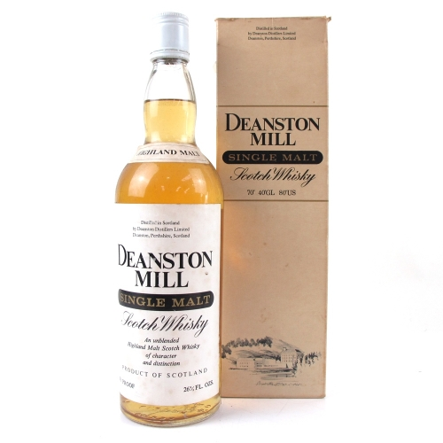 Deanston Mill 1970s Single Malt Scotch Whisky - 70cl 40%