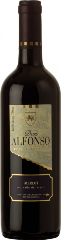 Don Alfonso Merlot Wine - 75cl 12.5%