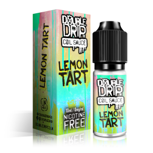 Double Drip Lemon Tart Vape E- Liquid 10ml 0mg