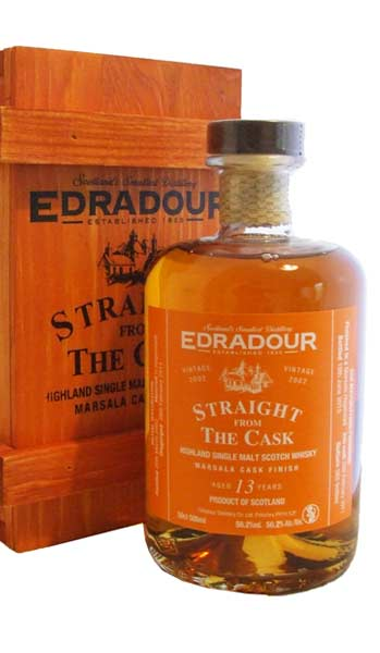 Edradour 2002 Cask Strength Marsala Finish Whisky 50cl, 56.2%
