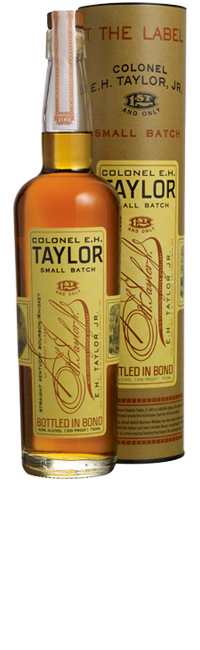 E.H. Taylor Small Batch Whiskey - 75cl 50%