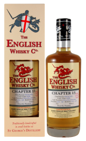 English Whisky Company Chapter 15 Heavily Peated Whisky - 70cl 46%