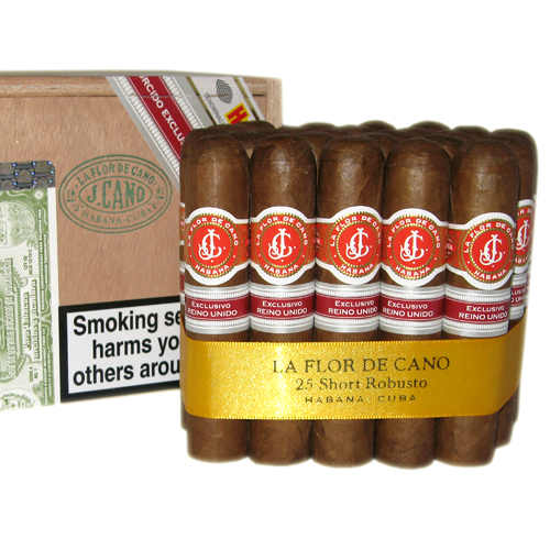 La Flor de Cano Short Robusto Cigar UK regional edition