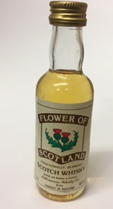 Flower of Scotland Whisky Miniature - 5cl 40%