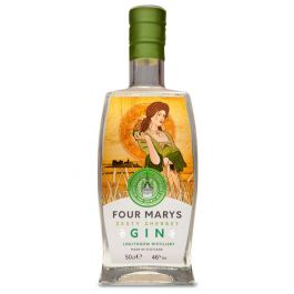 Four Marys Zesty Sherbet Gin Miniature - 46% 5cl