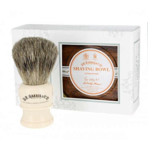 D R Harris & Co Ltd Arlington Shaving Gift Set - Mahogany