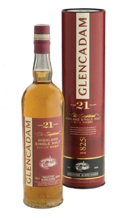 Glencadam 21 Year Old - 70cl 46%