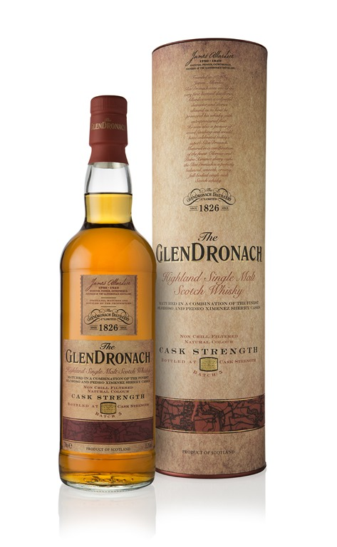 Glendronach Cask Strength Batch 5 Single Malt Scotch Whisky - 70cl 55.3%