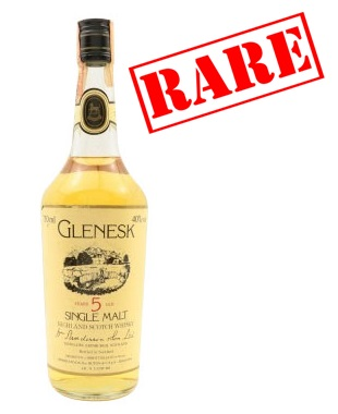 Glenesk 5 Year Old Single Malt Scotch Whisky - 75cl 40%