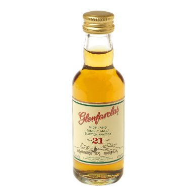 Glenfarclas 21 Year Old Single Malt Scotch Whisky Miniature - 5cl 43%