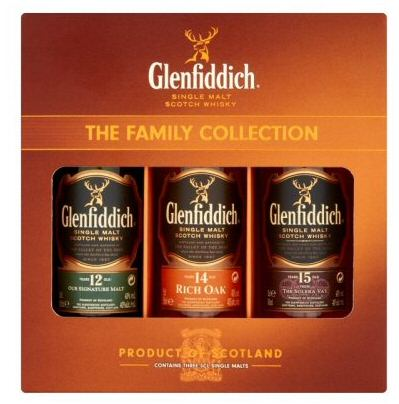 Glenfiddich Family Collection 5cl Gift Pack