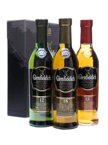 Glenfiddich 3 x 20cl Triple Pack