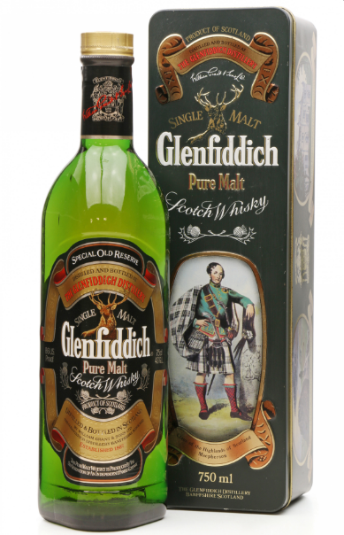 Glenfiddich Special Old Reserve Clan of the Highlands of Macpherson Whisky - 75cl 43%