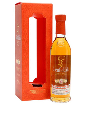 Glenfiddich 21 Year Old Reserva Rum Cask Finish Whisky - 20cl 40%