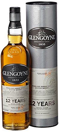 Glengoyne 12 Year Old Single Malt Scotch Whisky - 70cl 43%