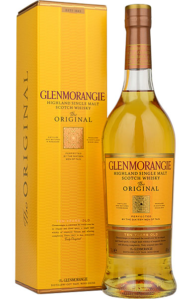 Glenmorangie 10 Year Old Original Single Malt Scotch Whisky - 70cl 40%