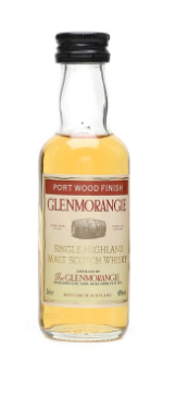 Glenmorangie Port Wood Finish Single Malt Scotch Whisky Miniature - 5cl 43%