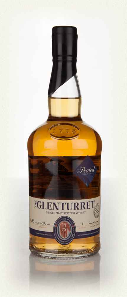 Glenturret Peated Edition Single Malt Scotch Whisky - 70cl 43%