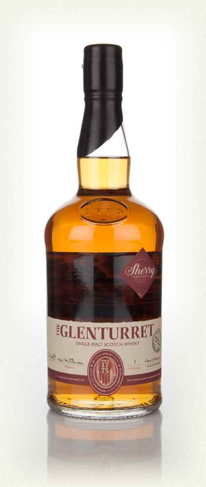 Glenturret Sherry Edition Single Malt Scotch Whisky - 70cl 43%