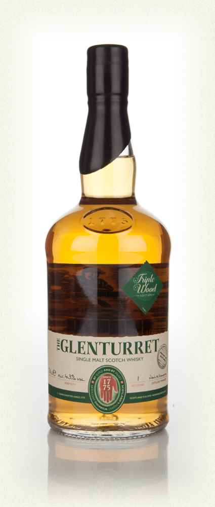 Glenturret Triple Wood Single Malt Scotch Whisky - 70cl 43%